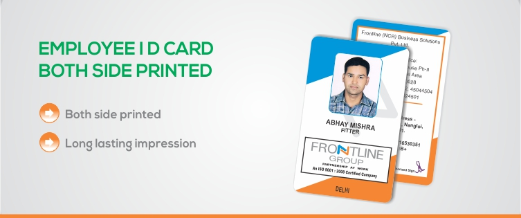 Ekprint Corporate Employee Id Cards Double Side