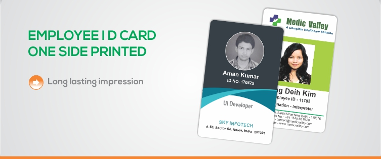 EkprintCorporate Employee Id Card Single Side